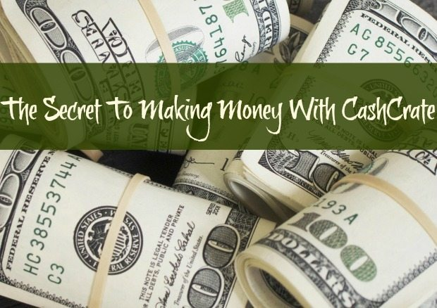 The Secret To Making Money With CashCrate