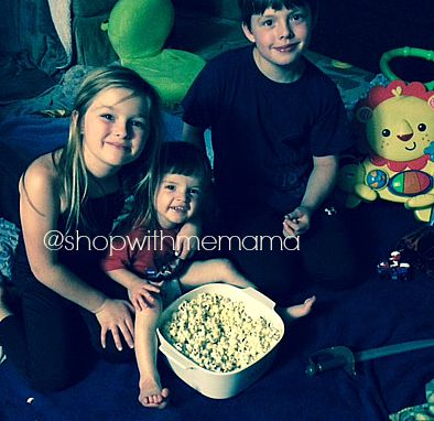 About Kim Delatorre Cute Kids eating popcorn