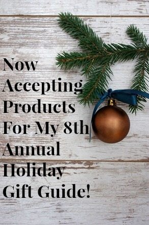 Now Accepting Products for holiday Gift Guide Shop with Me Mama
