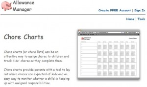 Allowance Manager is a free tool for parents to manage a child's allowance online. It is designed to allow parents to reward good behavior, discourage misbehavior, track chores, and enter miscellaneous allowance entries that are otherwise difficult to remember.