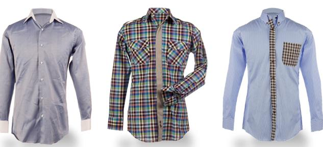 Men39s dress shirts for Blank label clothing