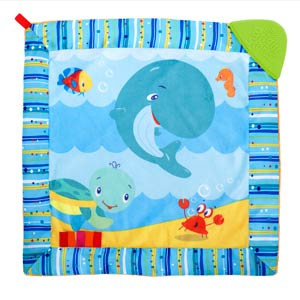 bright starts cuddle soft & soothe blanket