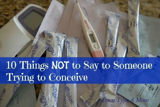 10 Things Not to Say to Someone Trying to Conceive