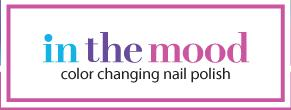 in the mood color changing nail polish logo