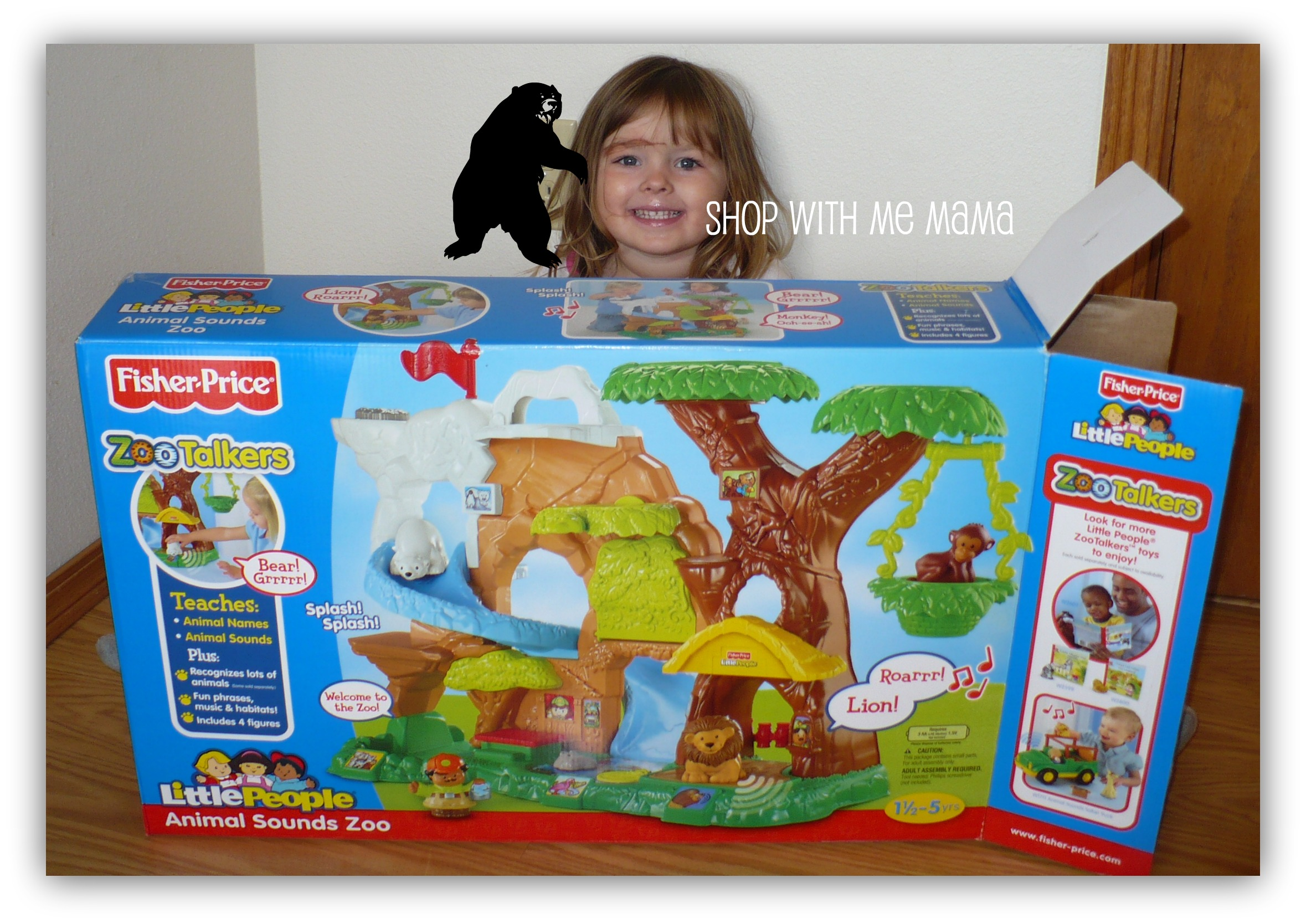 Toys Games Toy Figure Playsets Fisher Price Little People Zoo Talkers Animal Sounds Zoo