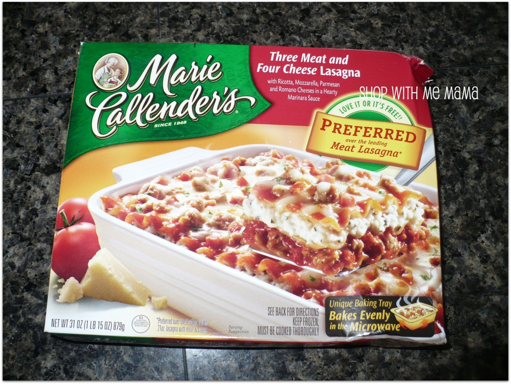 Marie callender's frozen dinners coupons 2018
