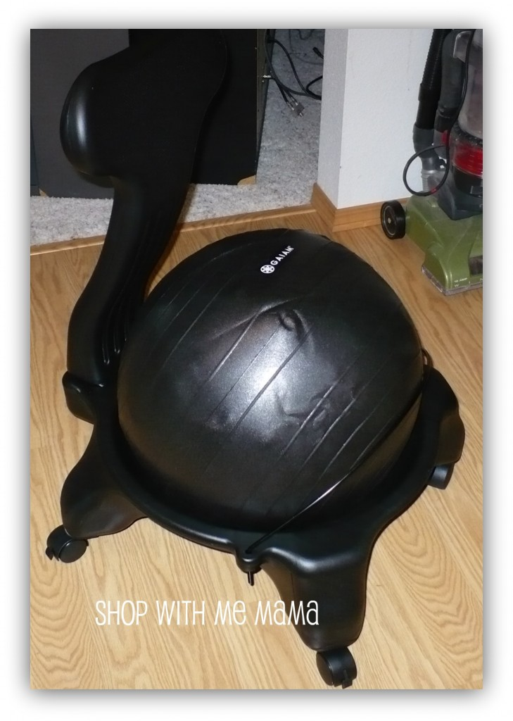 Balance Ball Chair System by Gaiam (Review & Giveaway)