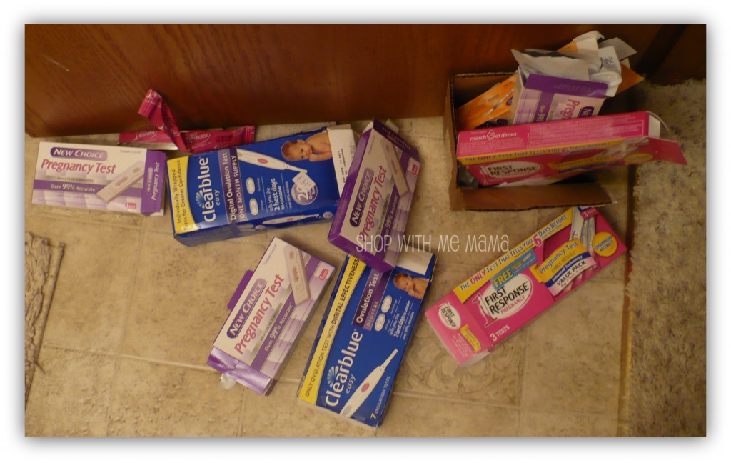 Pregnancy tests ovulation tests used