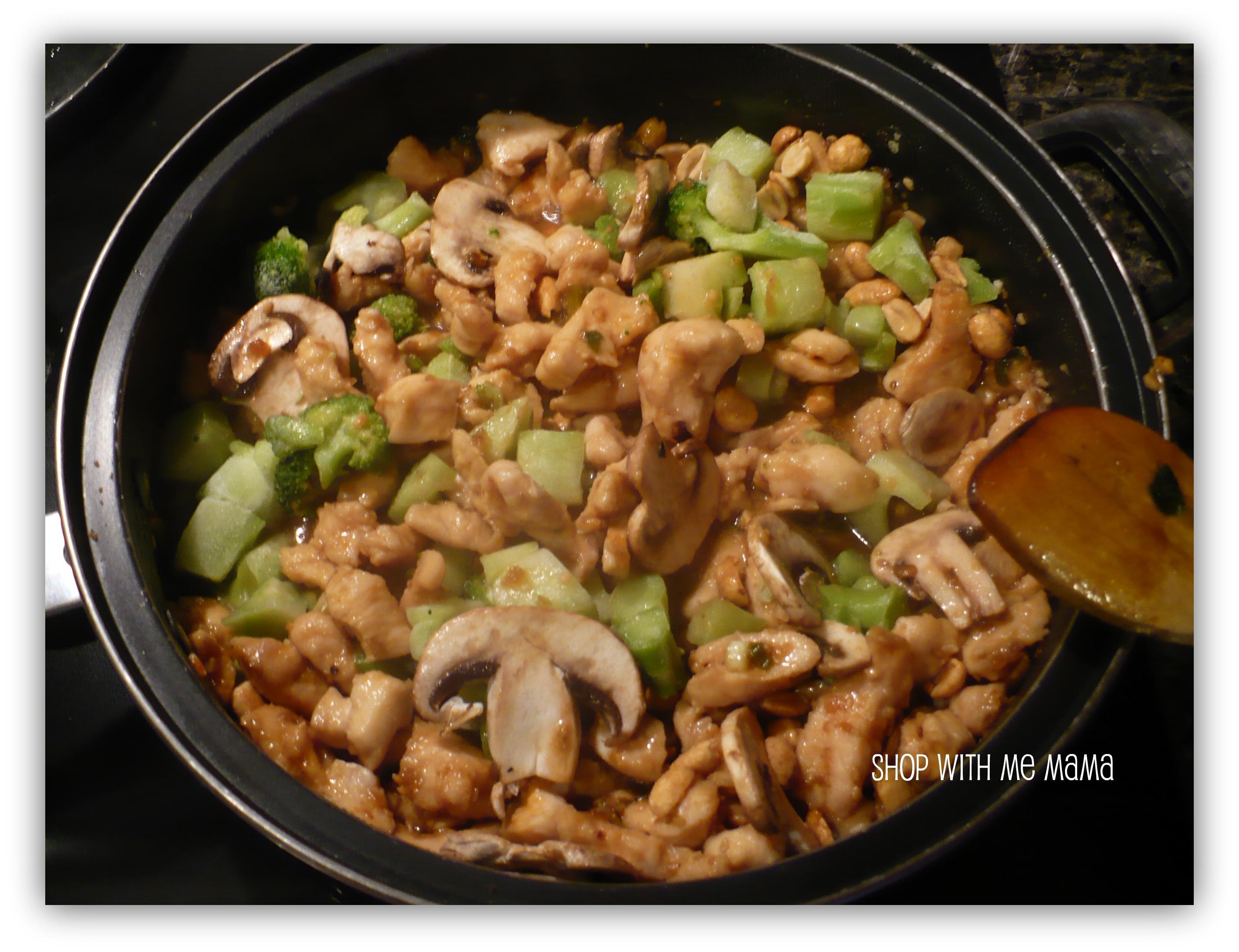 vegetables chicken stir fry