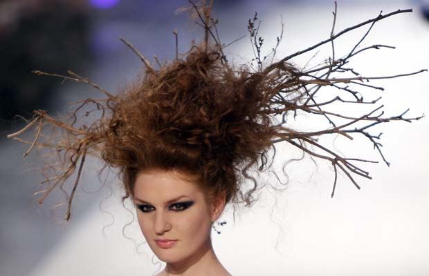 birds nest hair style and strange hairstyles oh my 6905