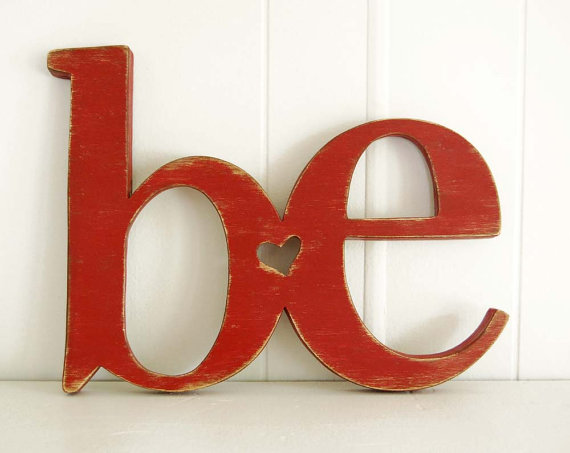 be handmade sign from etsy