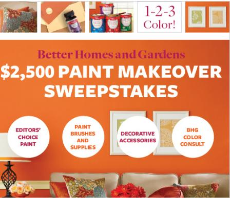2 500 better homes and gardens paint sweepstakes shop with me mama