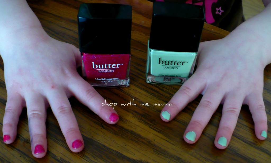 Mixed Mama Paralyzed Heals Coloring Page: Butter LONDON's Spring/Summer 2012 Collection