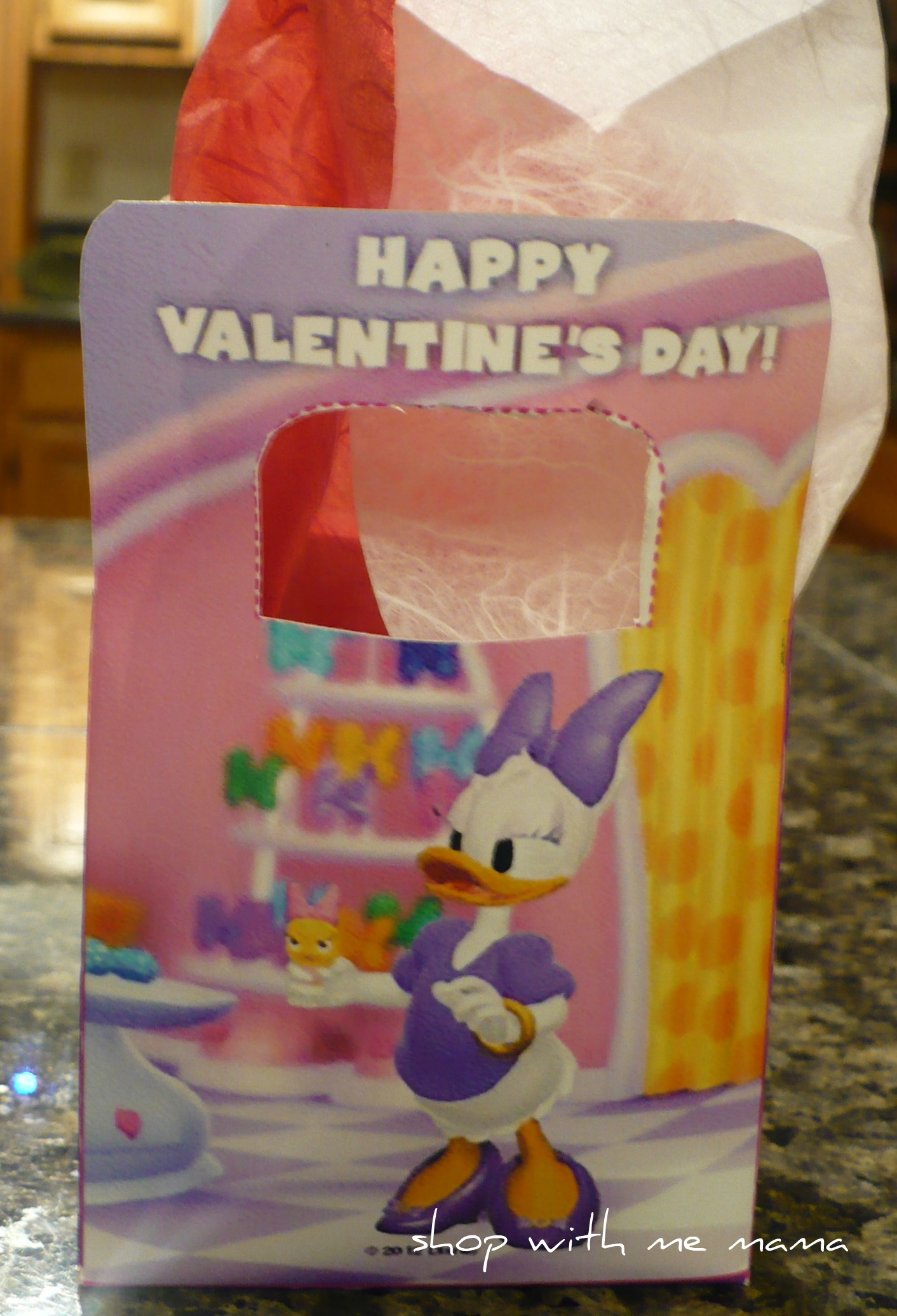 I Heart Minnie Printable Valentines Day Box