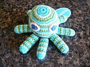 baby octopus rattle
