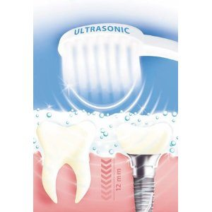 ultrasonic toothbrush how to use