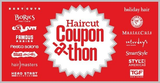 Discount coupons for haircut