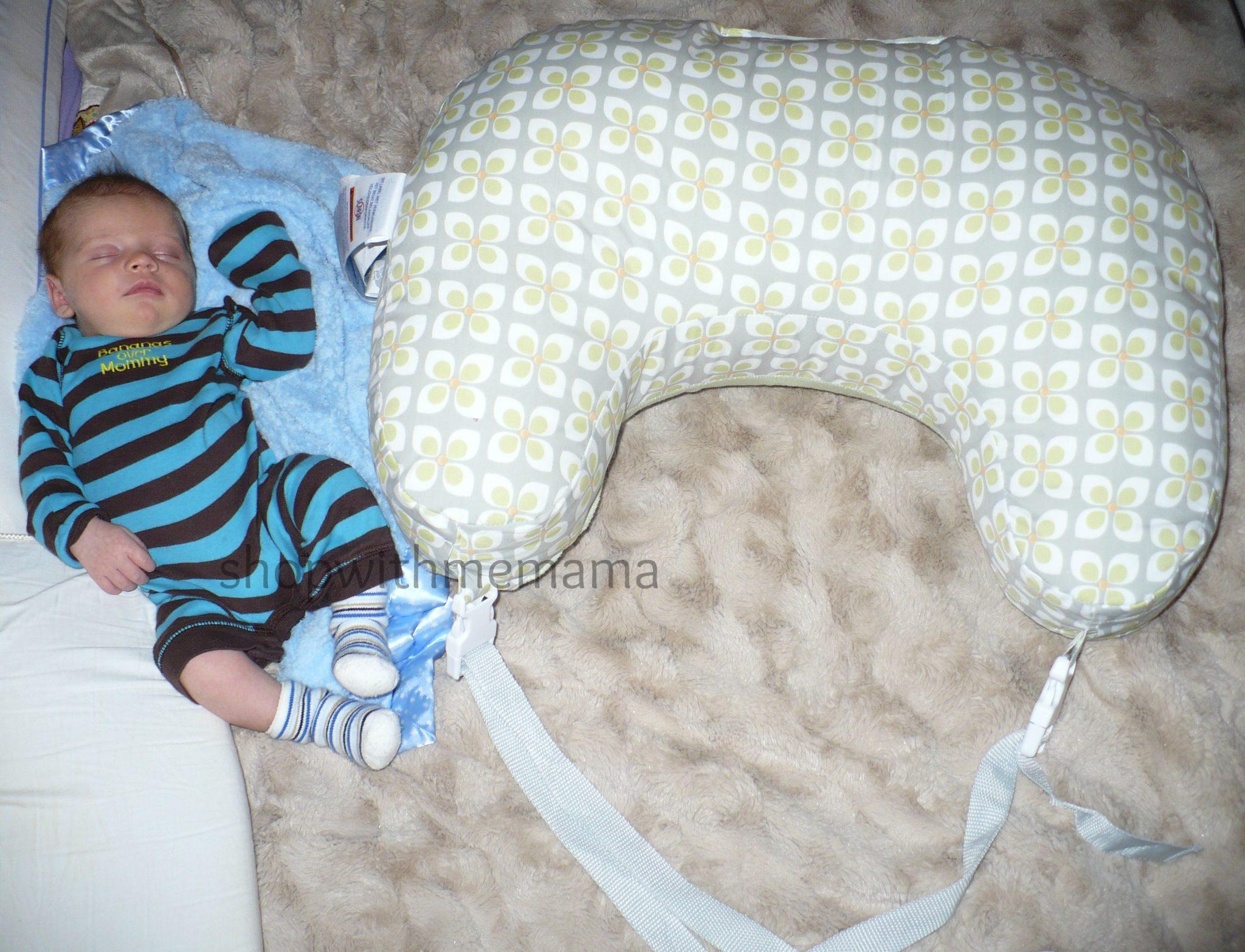 Boppy Two-Sided Breastfeeding Pillow