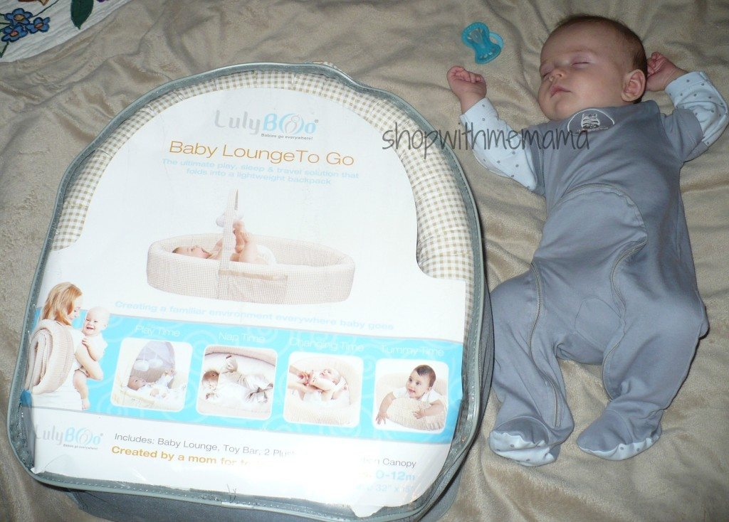 Lulyboo Baby Lounge To Go Review Shop With Me Mama