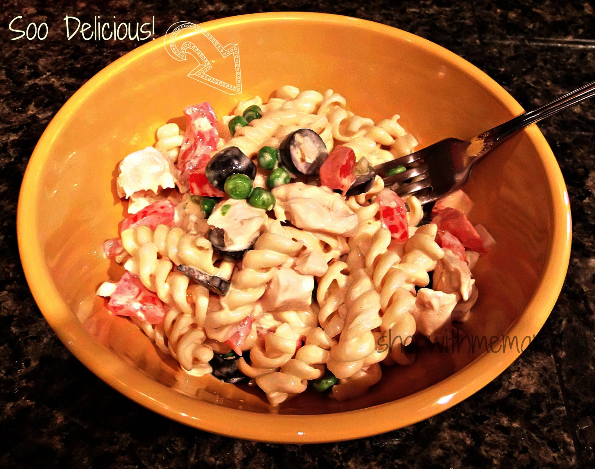 Easy Zesty Pasta Salad Recipe