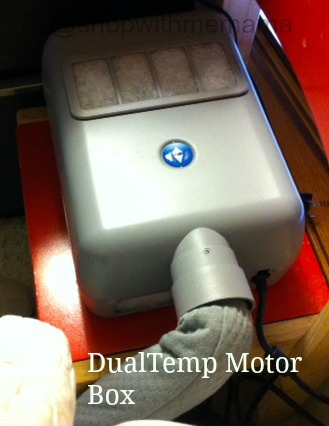 sleep number dualtemp motor fan box