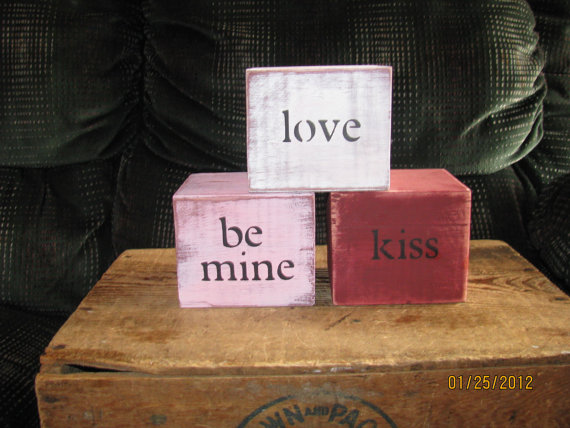 Valentines Day Conversation Blocks