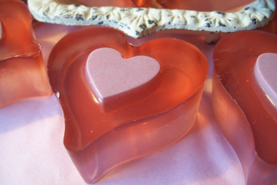"Glycerin Soap ""Chocolate Strawberry Soap"""
