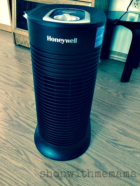 Honeywell True HEPA Allergen Remover Compact Tower