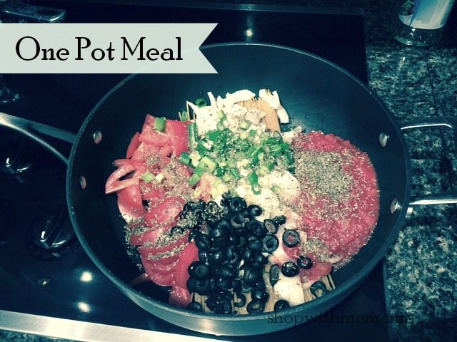 Easy Meal In Minutes One Pot Meal