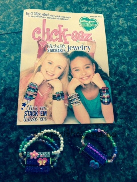 Click-eez: Sweet Summer Arm Candy Click-eez clickable stackable jewelry
