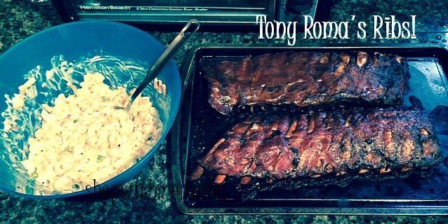 Tony Roma's Ribs #Riberty