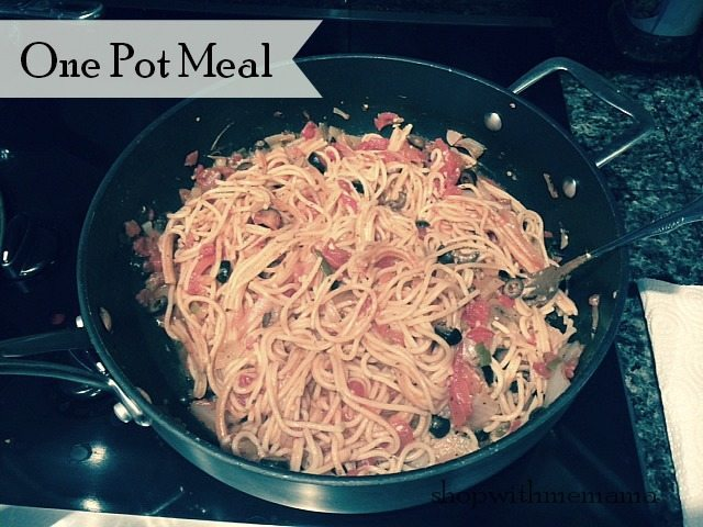 Easy Meal In Minutes One Pot Pasta Meal