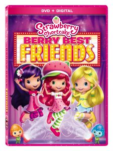 Strawberry Shortcake Berry Best Friends DVD Giveaway!