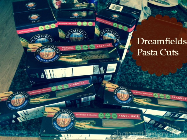 Dreamfields pasta cuts