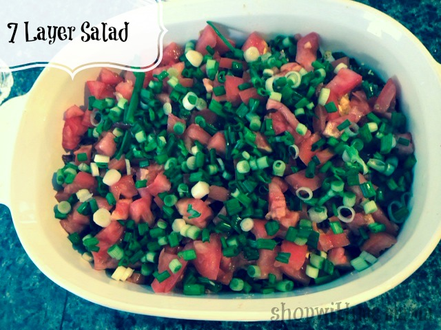Delicious 7 Layer Salad Recipe