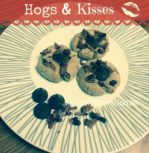 Hogs & Kisses Cookies