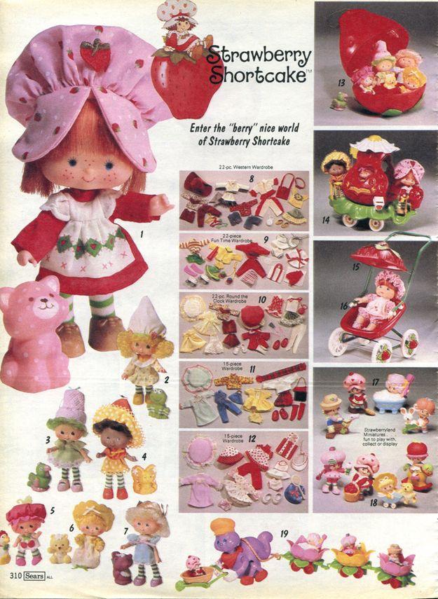 strawberry shortcake and friends dolls vintage
