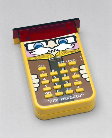 Little Professor vintage calculator