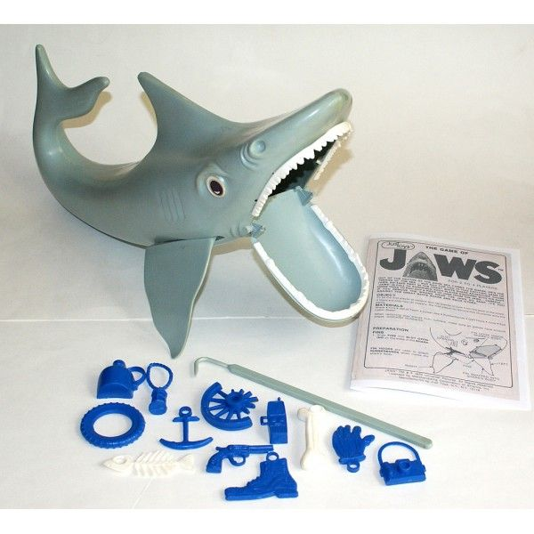 the game of jaws vintage toy game
