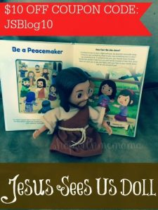 How do you introduce your child to Jesus? #JesusSeesUs