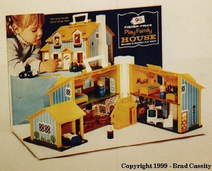 Fisher Price Little People Vintage Play Family House