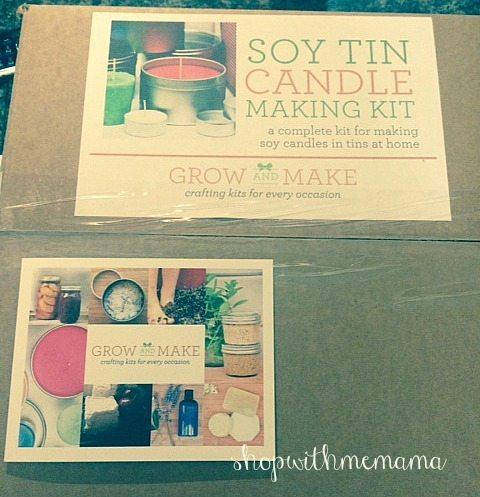 Soy Tin Candle Making Kit