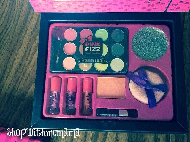 Pink Fizz makeup
