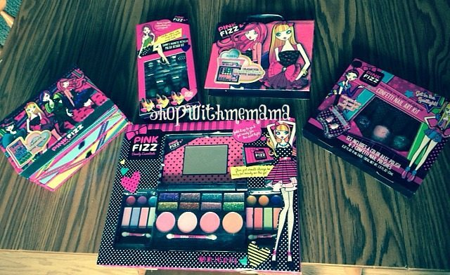 pink fizz makeup for girls