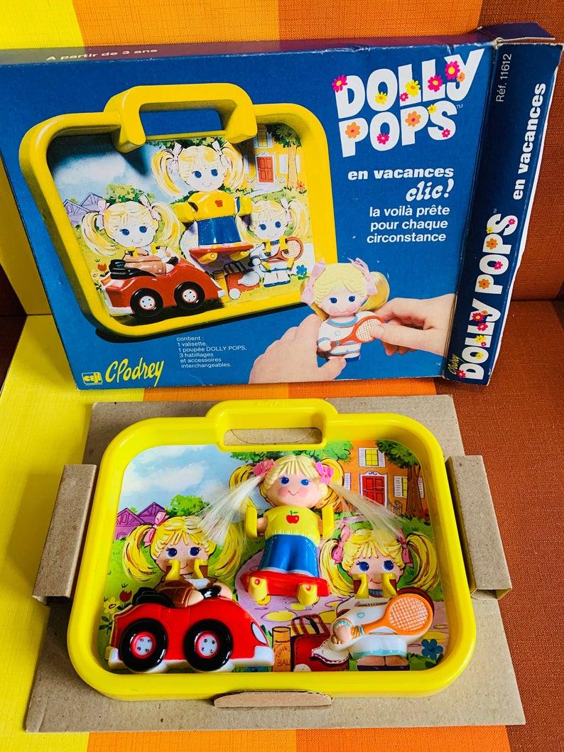 vintage dolly pops