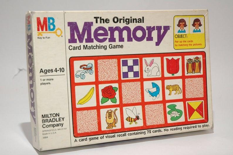 vintage memory game