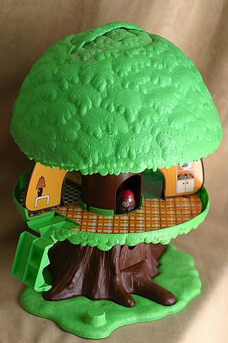 weebles tree house vintage toy
