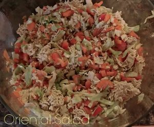 Oriental Salad With Ramen Noodles