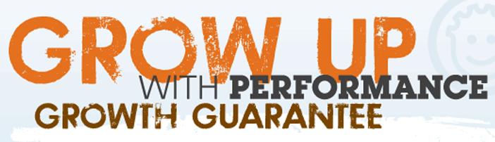 Grow up with performance growth guarantee