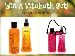 Vitabath Gift Set Giveaway